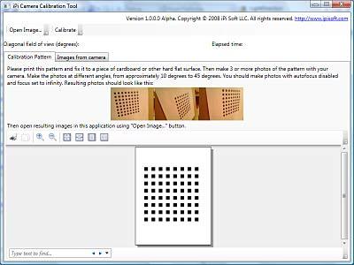 iPi Camera Calibration Tool for Markerless Motion Capture